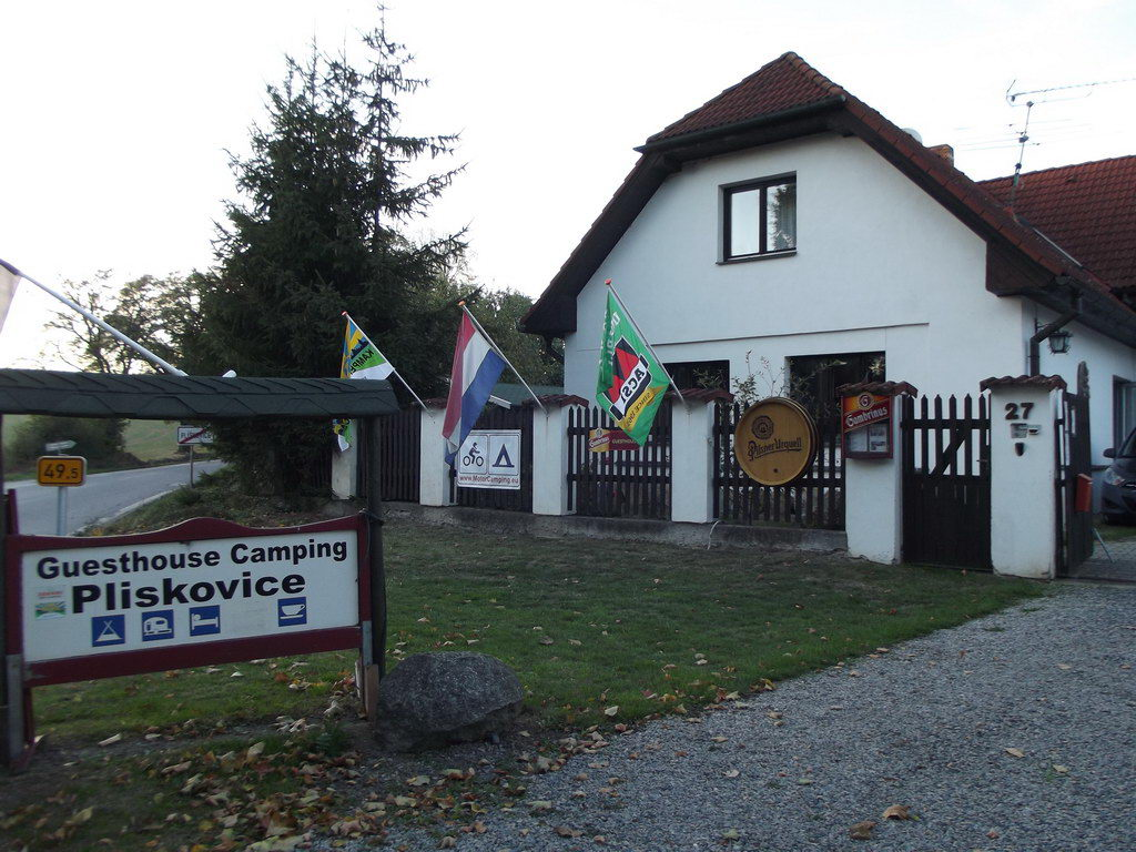 Flagge Guesthouse Camping Pliskovice